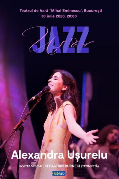 Poster eveniment Alexandra Ușurelu: Ușor Jazz