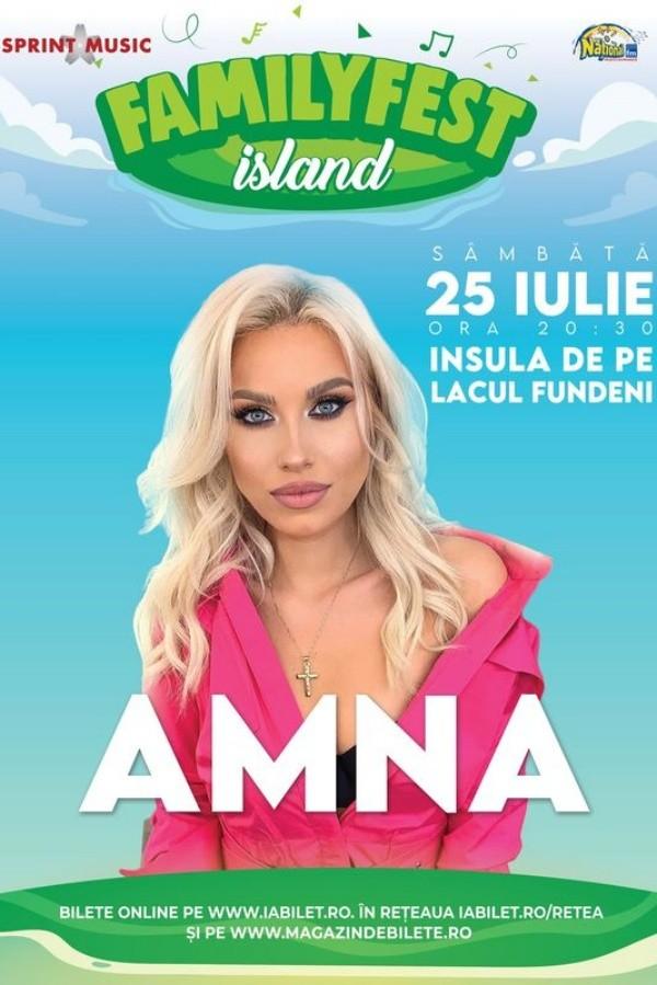 AMNA la FamilyFest Island (București)