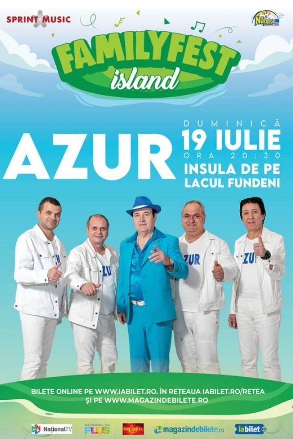Azur la FamilyFest Island (București)