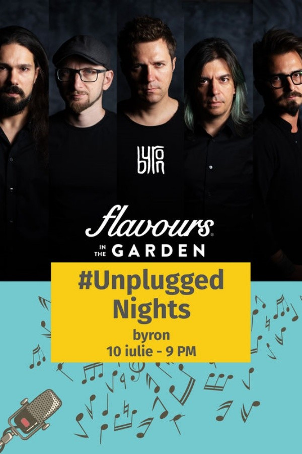 byron acustic - Unplugged Nights la Flavours in the Garden
