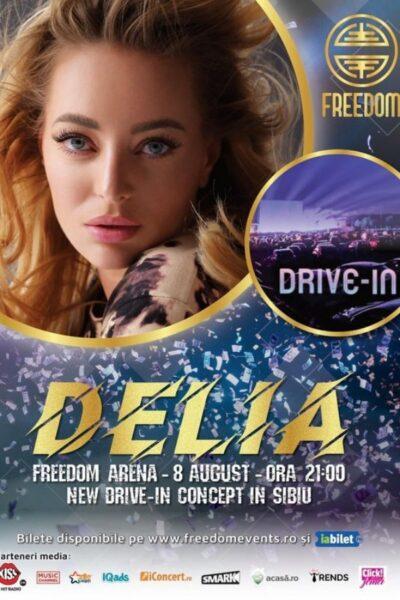 Poster eveniment Delia Drive-In