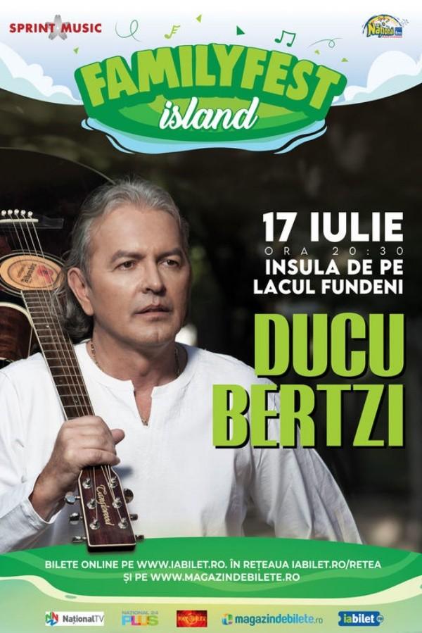 Ducu Bertzi la FamilyFest Island (București)
