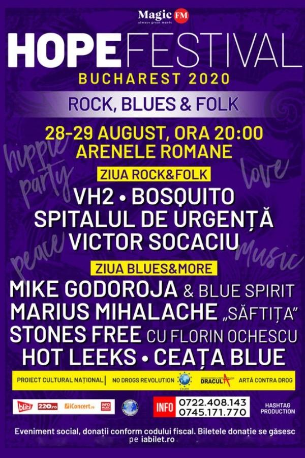 HOPE Festival la Arenele Romane