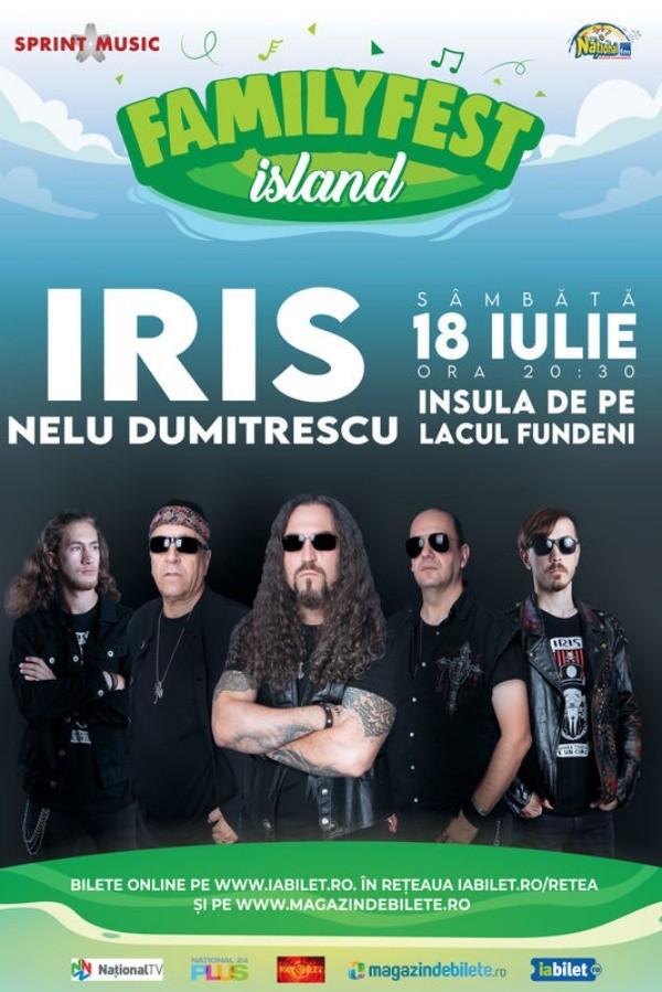 Iris – Nelu Dumitrescu la FamilyFest Island (București)