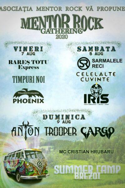 Poster eveniment Mentor Rock Gathering - Summer Camp Brezoi