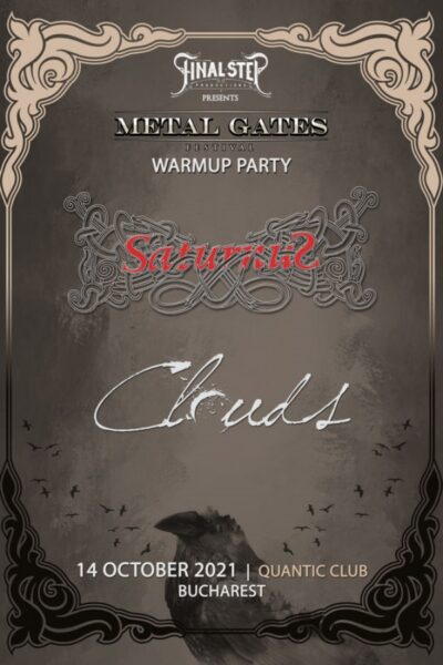 Poster eveniment Metal Gates Festival Warmup Party