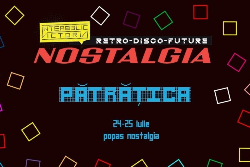 Poster eveniment NOSTALGIA // Pătrățica
