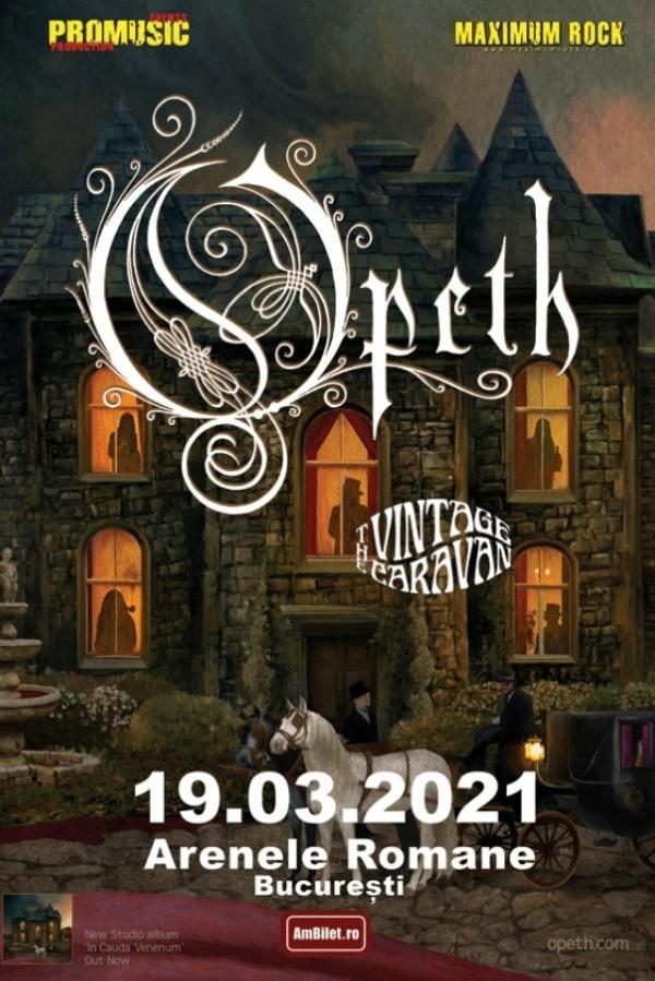 Opeth la Arenele Romane