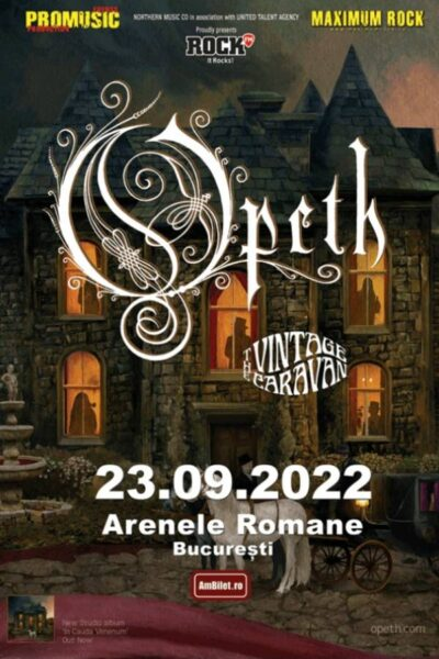 Poster eveniment Opeth