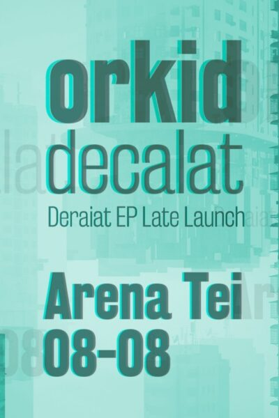 Poster eveniment Orkid