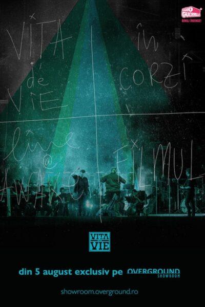 "Poster eveniment Overground Showroom: Vita de Vie – \""În Corzi\"""