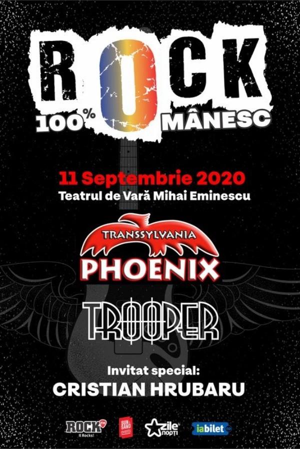 Rock 100% Românesc la Teatrul de Vară Mihai Eminescu