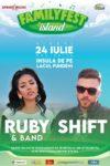 Ruby & Band împreună cu Shift