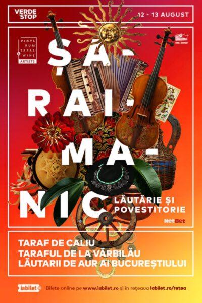 Poster eveniment Șaraimanic - Lăutărie și Povestitorie