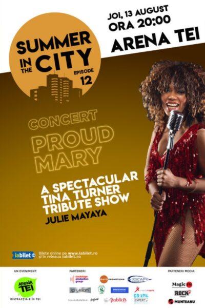 Poster eveniment Summer in the City - Concert Julie Mayaya