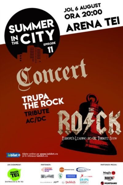 Poster eveniment Summer in the City - Concert The R.O.C.K.