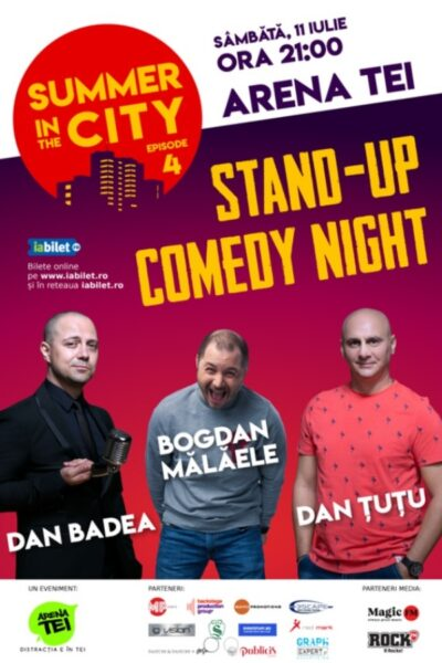 Poster eveniment Summer in the City - Stand Up Comedy Night