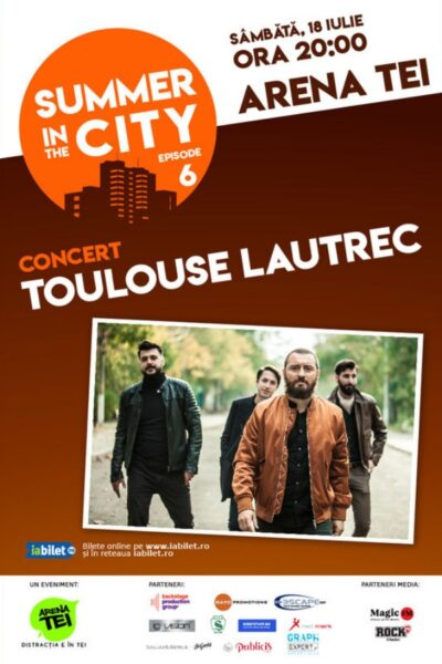 Poster eveniment Summer in the City Concert Toulouse Lautrec
