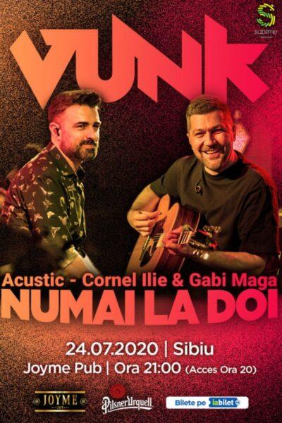 Poster eveniment VUNK - Numai la doi - Acustic