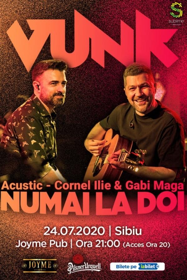 VUNK - Numai la doi - Acustic la Joyme Pub (Sibiu)