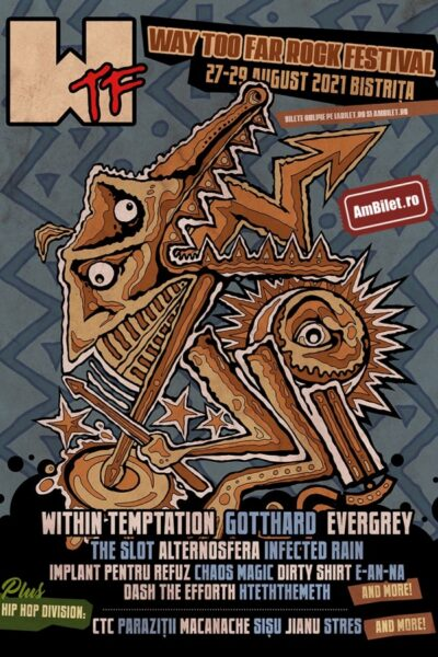 Poster eveniment WTF – Way Too Far Rock Festival 2022