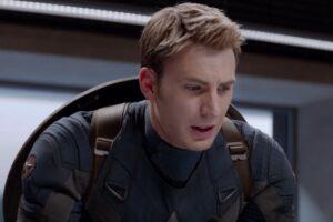 """Chris Evans în """"Captain America: The Winter Soldier"""" (captură ecran)"""