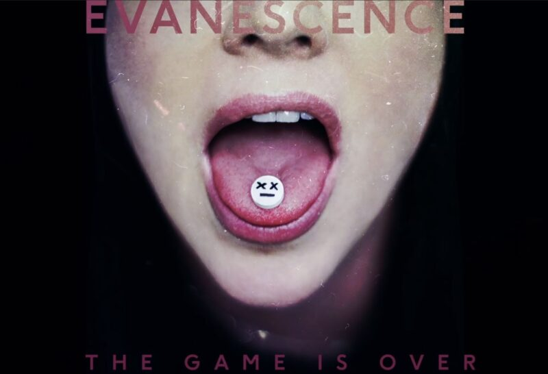 Coperta single Evanescence The Game Is Over