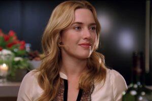 """Kate Winslet în """"The Holiday"""" (captură ecran)"""