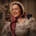 """Olivia de Havilland în """"Pe aripile vântului"""" (captură ecran)"""