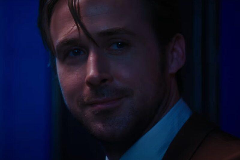 """Ryan Gosling în """"La La Land"""" (captură ecran)"""