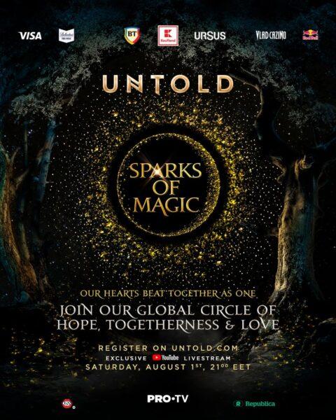 UNTOLD 2020 online Sparks of Magic