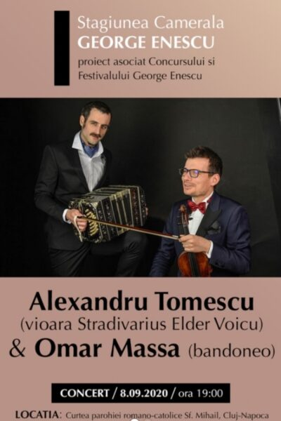 Poster eveniment Alexandru Tomescu & Omar Massa
