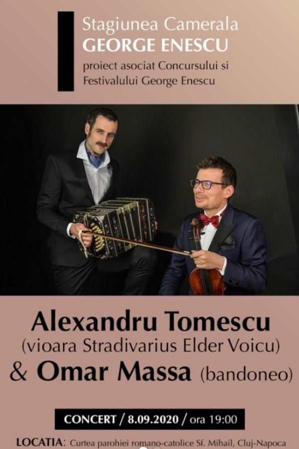 Alexandru Tomescu & Omar Massa la Biserica Romano-Catolică Sfântul Mihail (Cluj-Napoca)