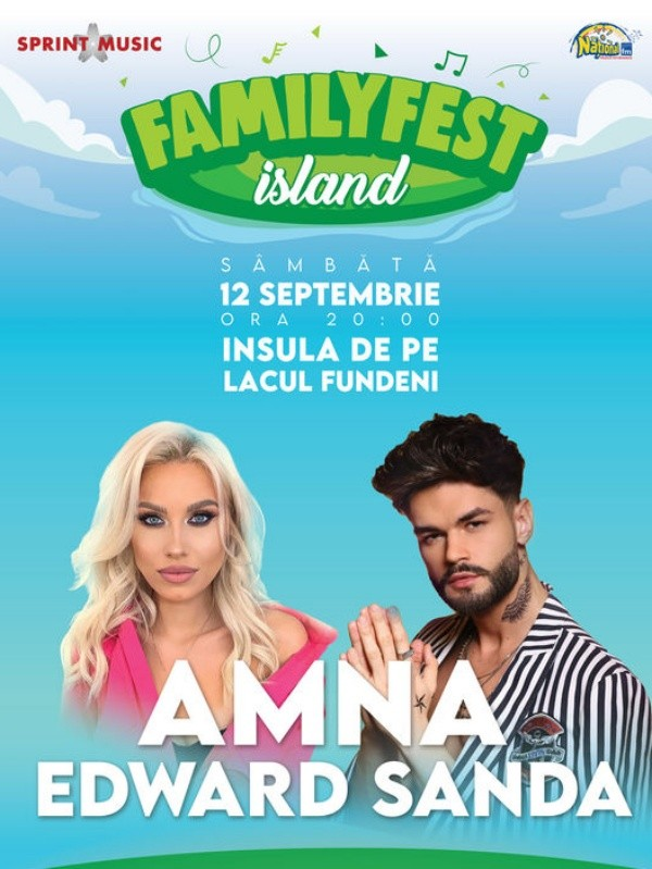 AMNA & Edward Sanda la FamilyFest Island (București)