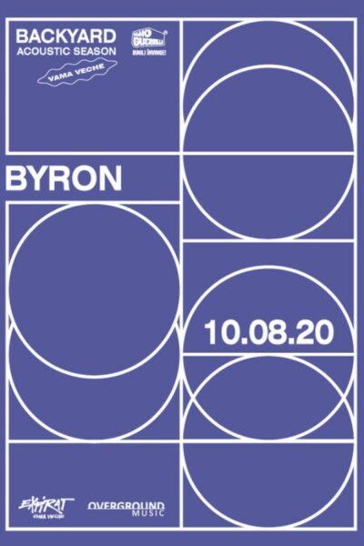 Poster eveniment byron