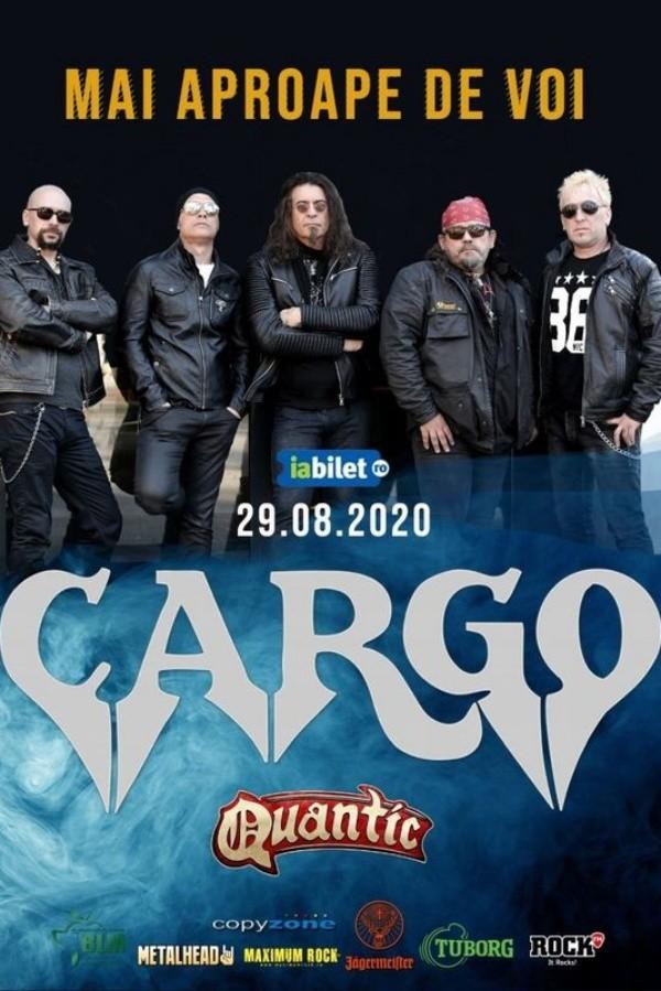 Cargo - Mai aproape de voi la Quantic Club