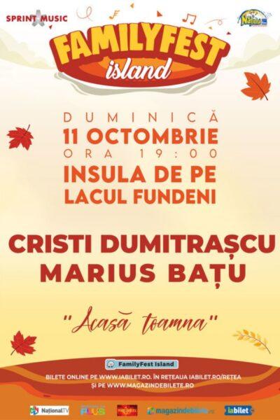 Poster eveniment Cristi Dumitrașcu și Marius Bațu
