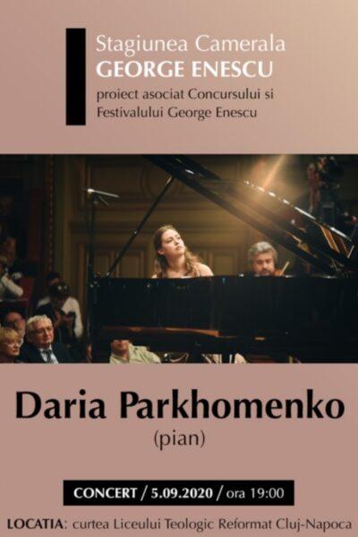 Poster eveniment Daria Parkhomenko