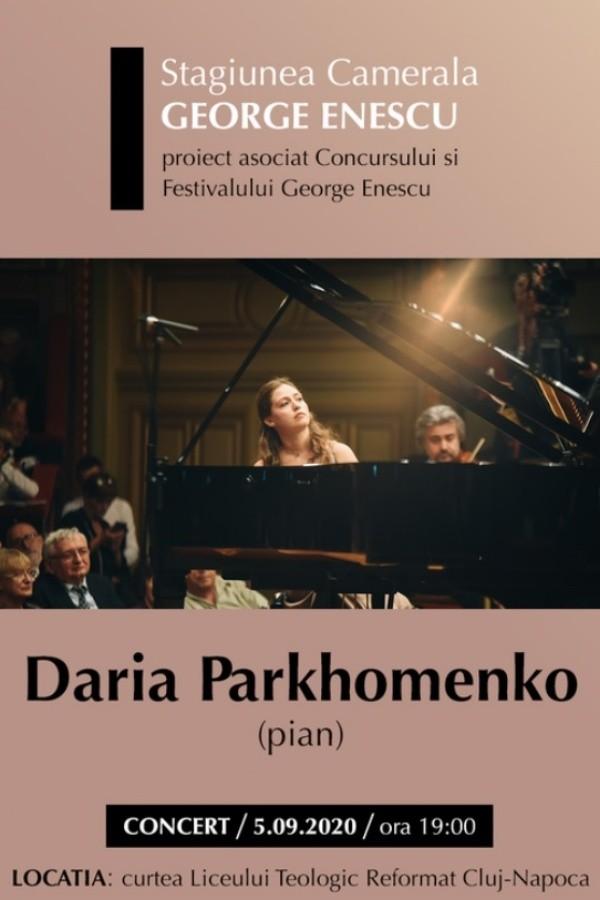 Daria Parkhomenko la Liceul Teologic Reformat (Cluj-Napoca)