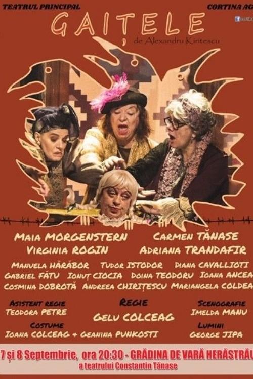 Gaițele la Teatrul de Vară din Herăstrău