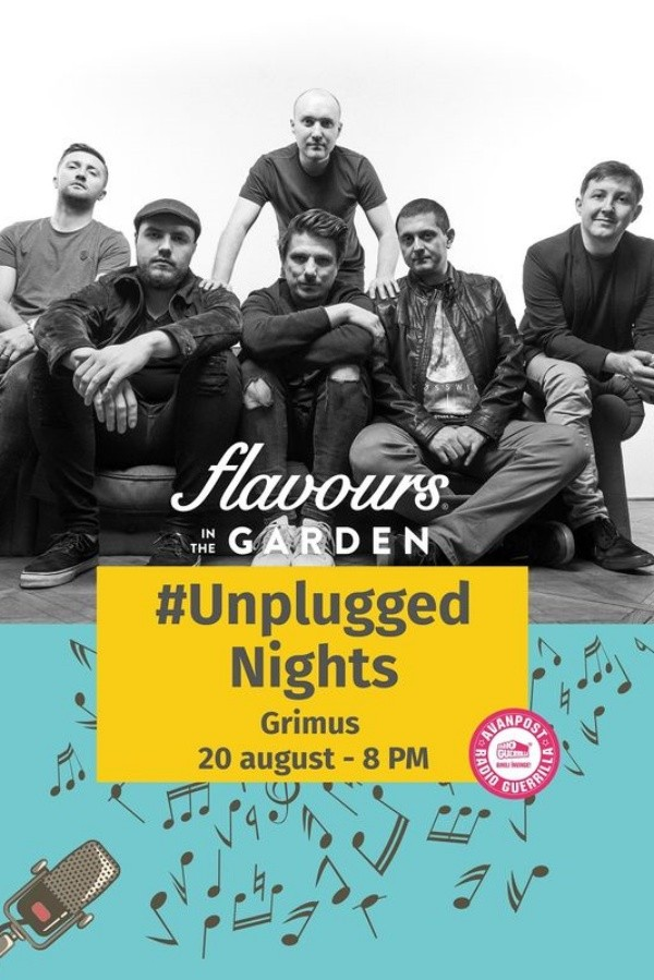 Grimus - Unplugged Nights la Flavours in the Garden