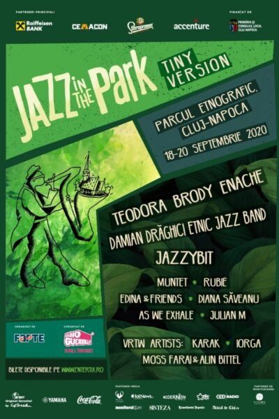 Poster eveniment Jazz in the Park - Tiny Version