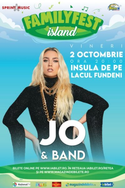 Poster eveniment JO & Band