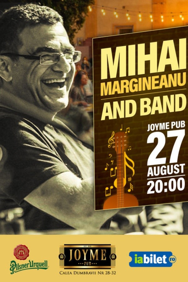 Mihai Mărgineanu la Joyme Pub (Sibiu)