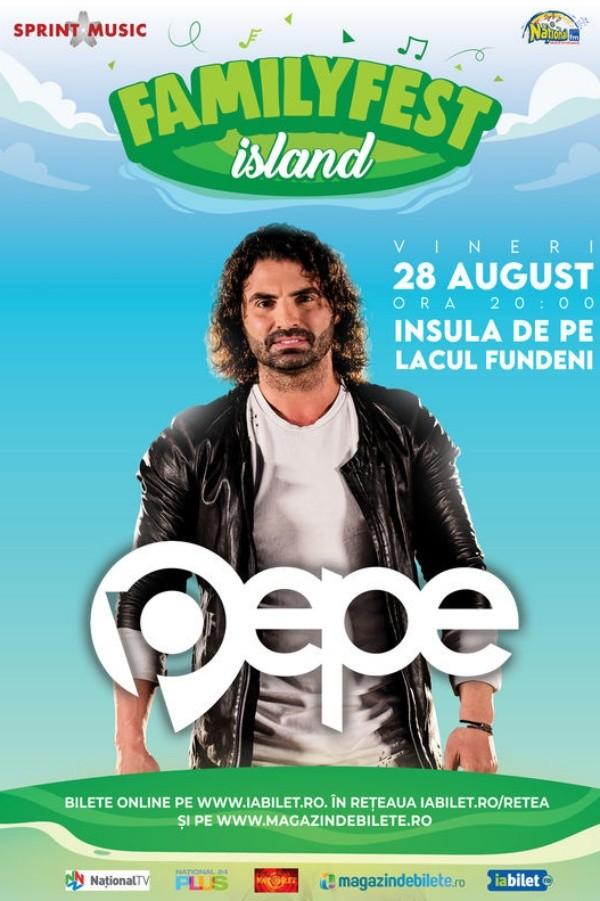 Pepe la FamilyFest Island (București)
