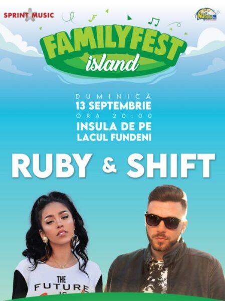Poster eveniment Ruby & Band împreună cu Shift
