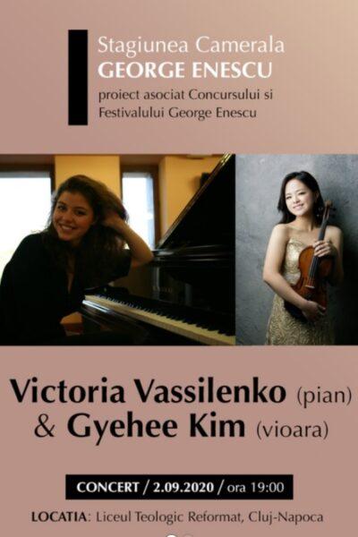 Poster eveniment Victoria Vassilenko & Gyehee Kim