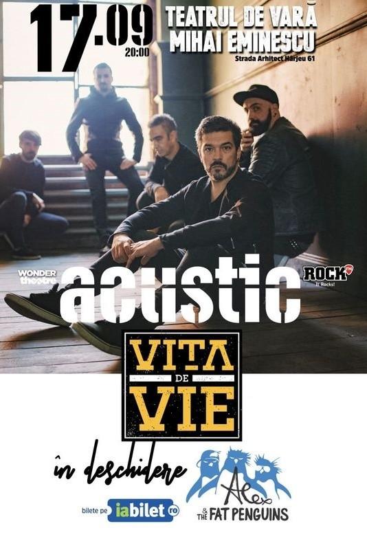 Vița de Vie / Alex & The Fat Penguins la Teatrul de Vară Mihai Eminescu