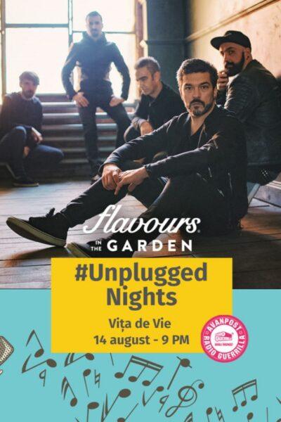 Poster eveniment Vița de Vie - Unplugged Nights la Flavours in the Garden