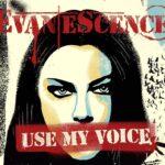 Coperta single Evanescence Use My Voice